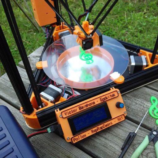 impresión3D offthegrid: imprimiendo