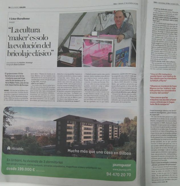 Entrevista Deia Maker Faire Bilbao