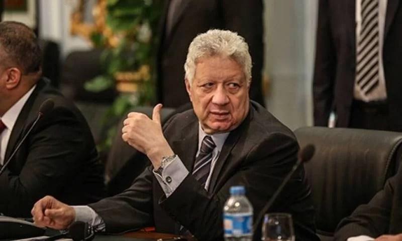 مرتضي منصور ضيف صدى البلد الخميس المقبل