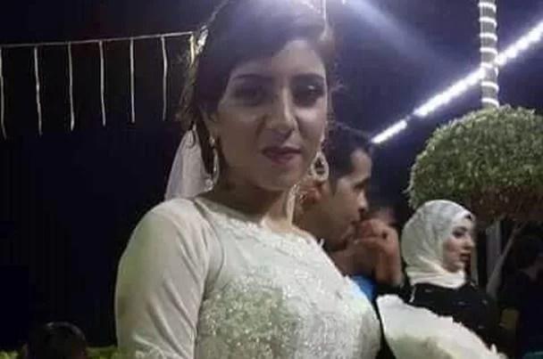 بالصورة وفاة عروسة  بعد الزفاف مباشرة في المنصورة
