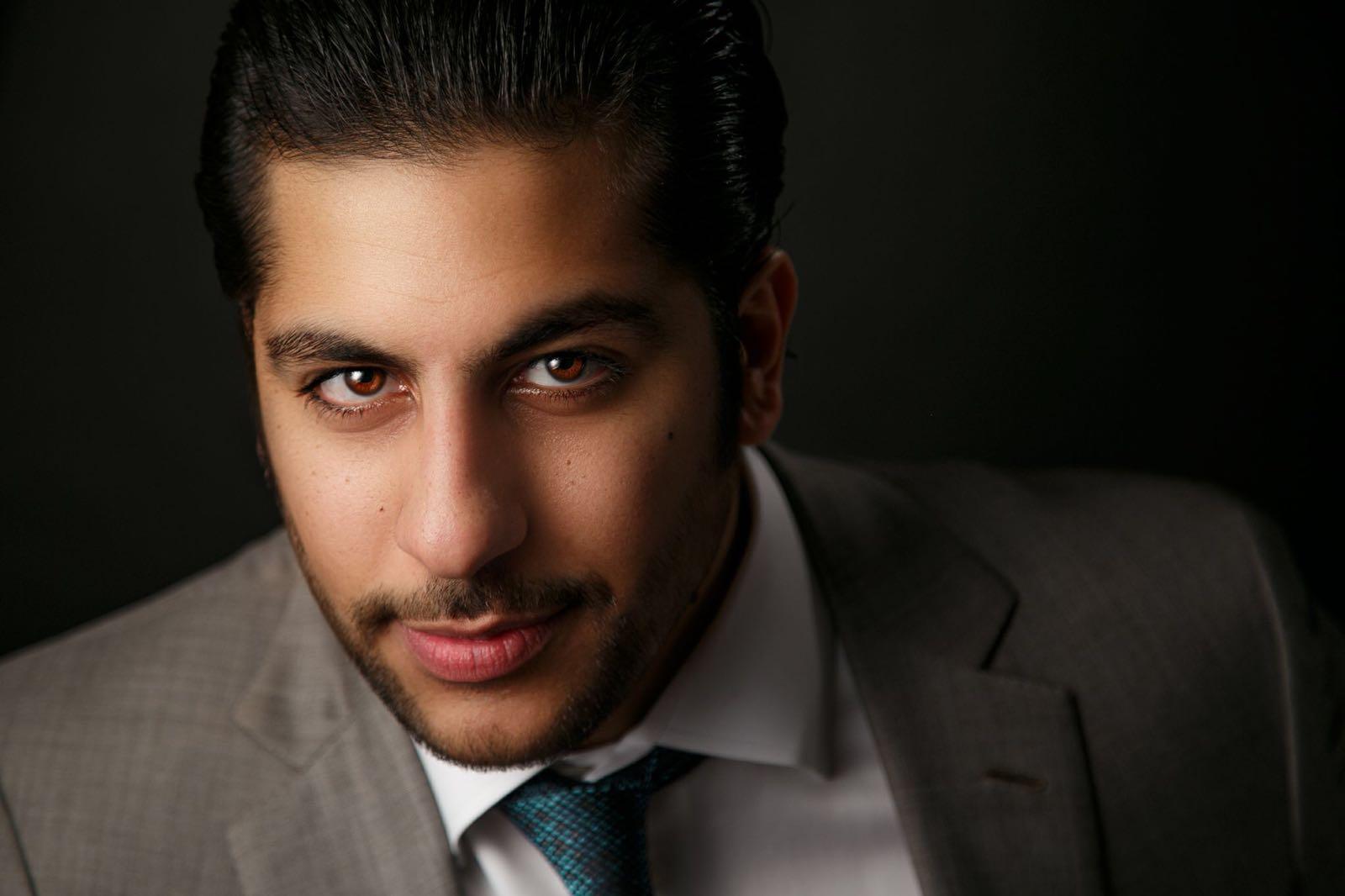 نادر رمزي ممثل شاب باداء نجم عالمي