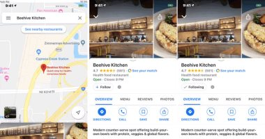 جوجل تطرح تحديثا جديدا لخدمة الخرائط على iOS يوفر زر Follow