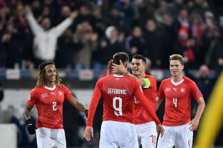 نتيجة مباراة سويسرا و جورجيا