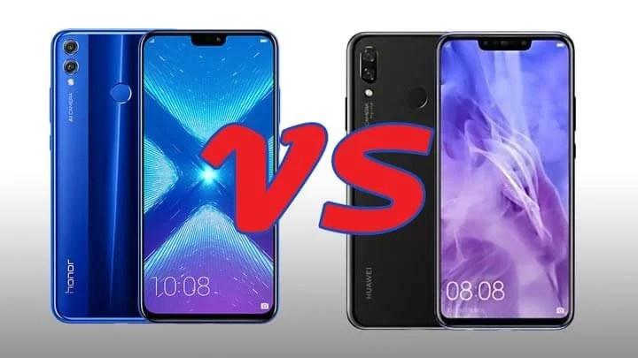 مقارنة بين هاتفي Honor 8X و Huwawei Y9 … أيهما يستحق الاقتناء