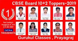 CBSE Board 10+2 Result 2019 in Prayagraj