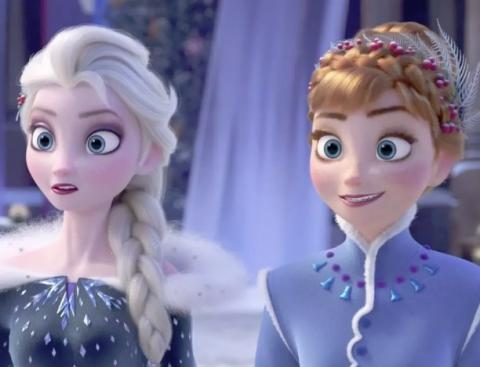 فيلم كرتون Frozen مدبلج Hd ملكة الثلج فروزن 2013