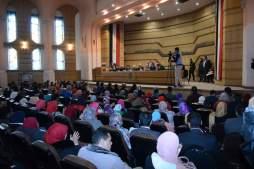 اولي محاضرات معهد محاماة القاهرة برئاسة عاشور وحضور سرور 14