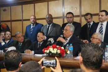 عاشور يفتتح معهد المحاماة بالقاهرة الجديدة