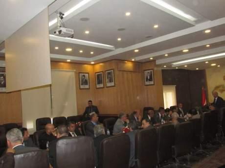 إجتماع مجلس النقابة العامة