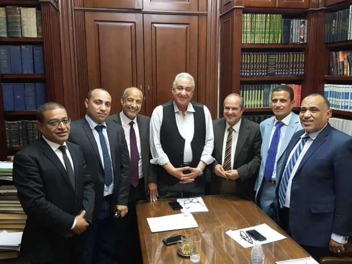 مجلس الاسماعيلية مع النقيب العام