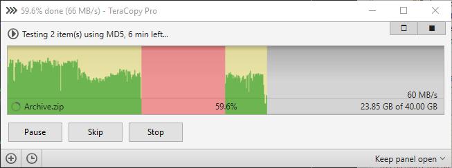 برنامج تسريع نقل الملفات من الكمبيوتر والفلاشة