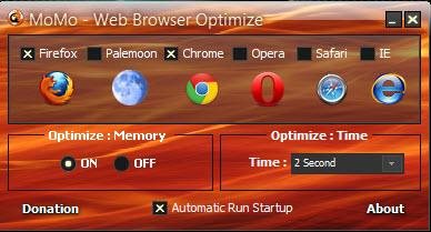برنامج تسريع تصفح النت Momo Web Browser Optimize مجانا