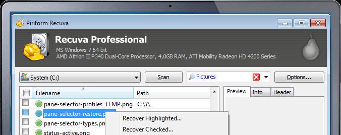 افضل برامج استرجاع الملفات المحذوفة بآخر الاصدارات