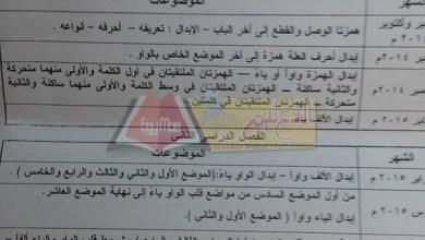 Photo of طلاب أزهريون ينشرون توزيع منهج الصرف للقسم العلمي بالثانوية الأزهرية