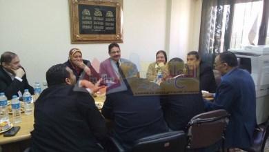 Photo of تعليم الإسكندرية يبحث تذليل العقبات مع رؤساء مجالس الإدارات للمعاهد القومية