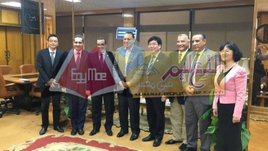 Photo of رئيس جامعة قناة السويس يستقبل رئيس جامعة خيبى بالصين