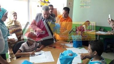 Photo of تعليم الجيزة يتفقد طلاب الشهادة الإعدادية بمستشفى 57357