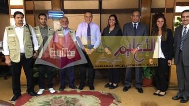 Photo of رئيس جامعة قناة السويس يستقبل وفد من جمعية نوري الخيرية الكويتية