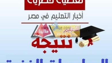 Photo of إعلان نتيجة الدور الثانى للدبلومات الفنية الأسبوع المقبل