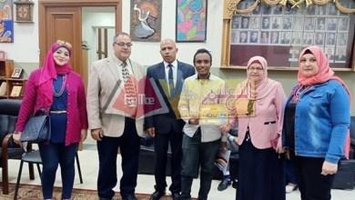 Photo of شهادات تقدير للطلاب الموهوبين وللمعلمين المتميزين بالمدرسة السعيدية