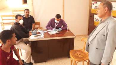 Photo of تجهيز مدرسة لصرف المعاشات وتسليم شرائح التابلت دون تكدس بالوادى الجديد