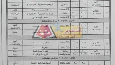 Photo of وزير التعليم يعتمد جدول امتحانات الثانوية العامة 2020