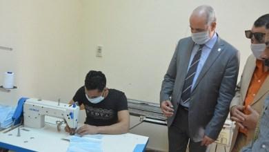 Photo of جامعة الفيوم تصنع أقنعة الوجه الطبية لصالح المستشفيات الجامعية
