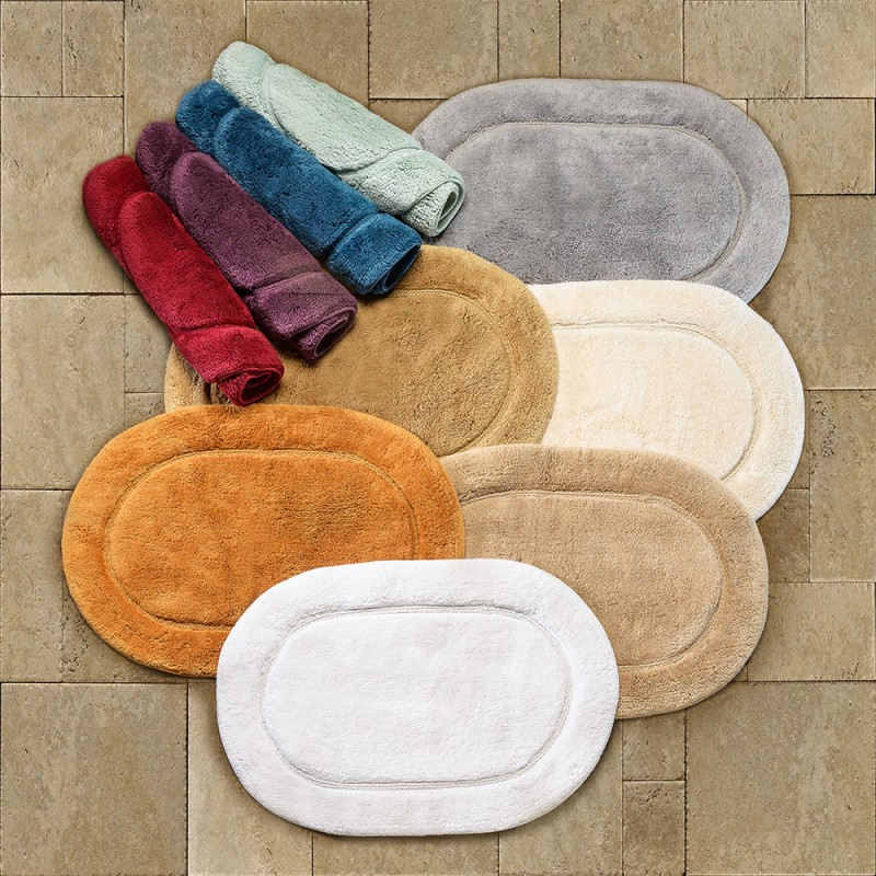 Sets Oval Rugs Bathroom