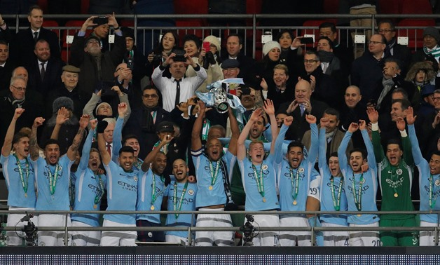 Man City Thrash Arsenal To Win League Cup Final Egypt Today