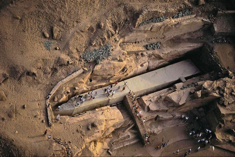 The Unfinished Obelisk - Egypt Egypt Portal