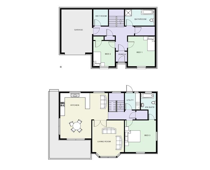 Floor Plans Small Laundry