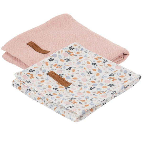 Swaddles Pure Pink Spring Flowers