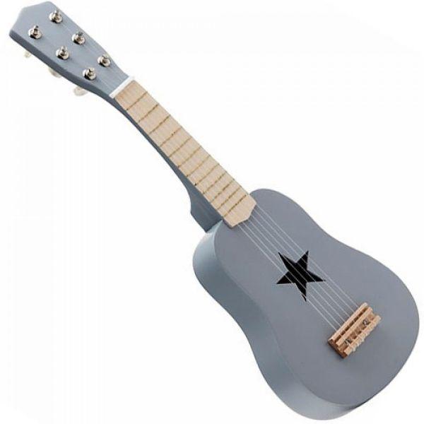 guitarra cinza de brincar da kids concept