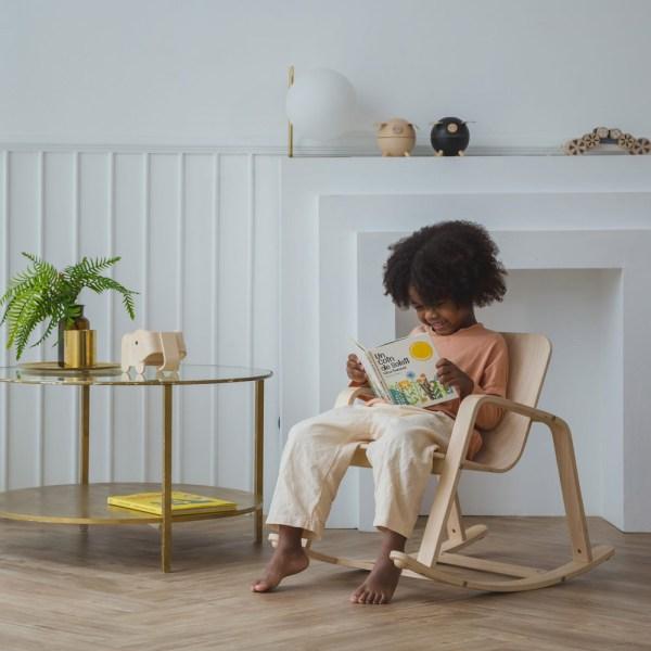 Cadeira de Baloiço para crianças em Madeira, da Plantoys