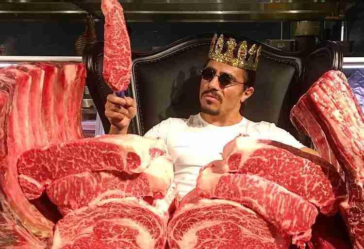 Nusr-Et re della carne