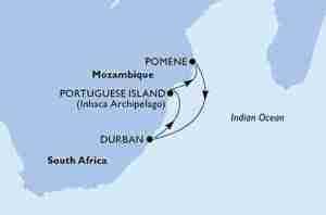 crociera sudafrica