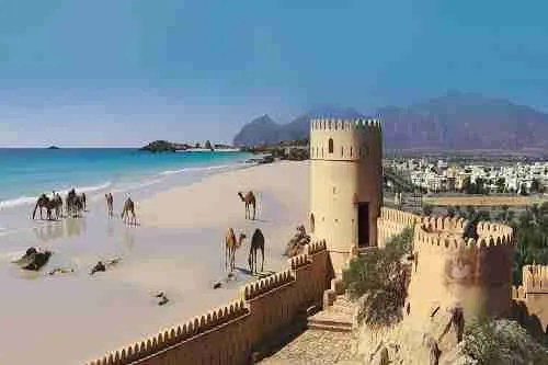Oman spiagge