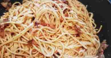 primo piatto di spaghetti