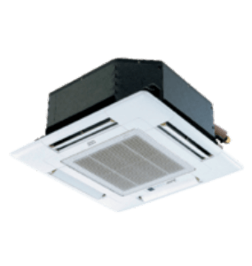 Ductless Inside Ceiling Unit