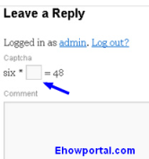 Manage spam conmments using Captcha WordPress AntiSpam Plugins