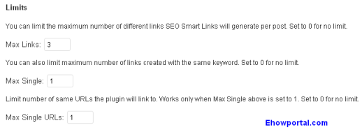 SEO Smart Links Extra Option
