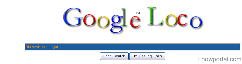 Google Loco - Google im Feeling Lucky Tricks