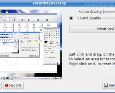 Desktop Session Recorder for Linux