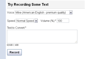 Online text to speech (TTS) converter - SpokenText