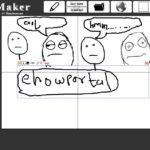 Create rage face with RageMaker