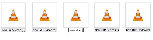Bulk renaming files