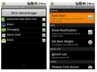 Advanced Task Killer for Android