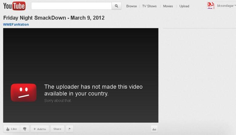 Watch WWE Live on YouTube