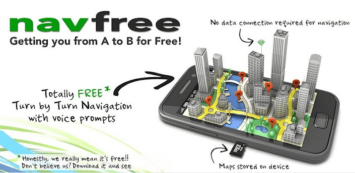 Free GPS Navigation Android Apps
