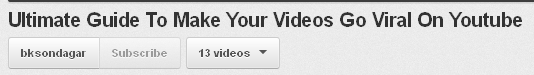 How To Make Your Videos Go Viral On Youtube
